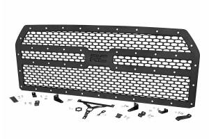 Exterior - Grilles - Rough Country - Laser-Cut Mesh Replacement Grille (Ford F150) - 70191