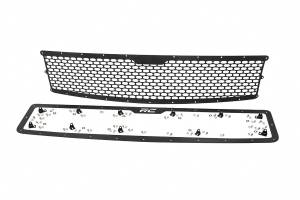 Exterior - Grilles - Rough Country - Laser-Cut Mesh Replacement Grille (Chevrolet Silverado 1500) - 70194