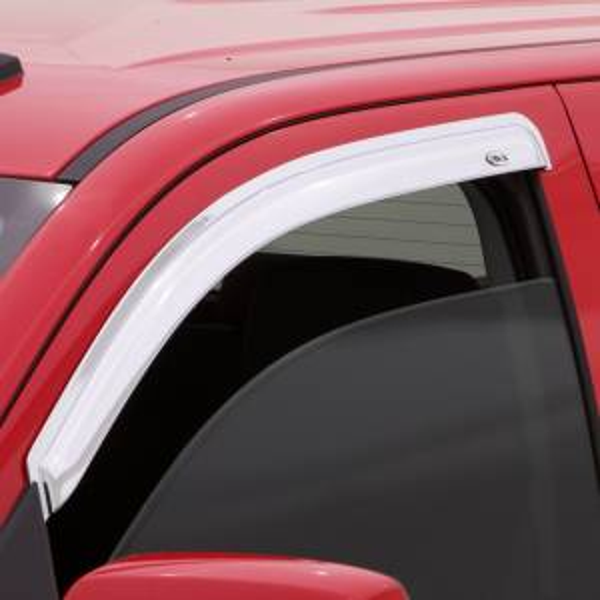 Exterior - Rain Guards - Auto Ventshade (AVS) - CHROME VENTVISOR - 2PC SIDE WINDOW DEFLECTOR - 682127