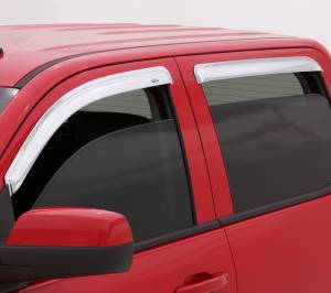 Auto Ventshade (AVS) - CHROME VENTVISOR - 4PC SIDE WINDOW DEFLECTOR - 684819