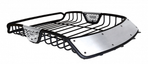 Roof/Luggage Racks - Roof/Luggage Rack Accessories - Go Rhino - SR10 (Brushed Stainless Fairings) - 48 Long - 59005T