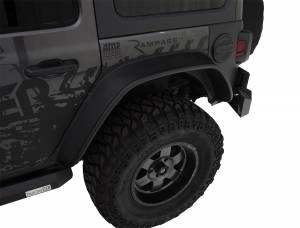 Bushwacker - FF Jeep Flat Style 2Pc Rear - 10100-07