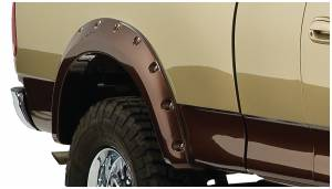 Exterior - Fenders & Flares - Bushwacker - FF Cutout Style 2Pc Rear - 20074-02