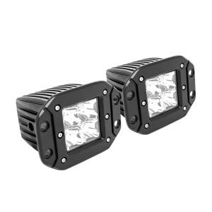 Lighting - Auxiliary Lighting - Westin - FM4Q 3W Osram w/mounting hardware and pigtail connectors (set of 2) - 09-1218FM4