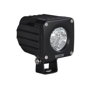 Lighting - Off Road Lights - Westin - LED Auxiliary Light 2.5 inch x 2.5 inch Flood w/10W Cree - 09-12218B