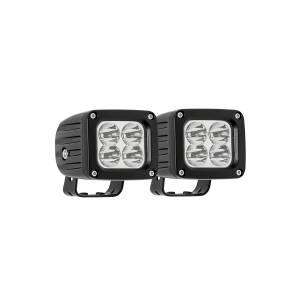 Lighting - Off Road Lights - Westin - LED Auxiliary Light 3 inch x 2.5 inch Spot w/5W Cree (Set of 2) - 09-12252A-PR