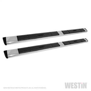 Westin - 6 in Oval Side Bar-Stainless Steel 75 in - 22-6020