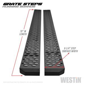 Westin - Textured Black Running Boards 79 inches - 27-74735 - Image 3