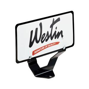 Exterior - Exterior Accessories - Westin - License Plate Relocator - 32-0055
