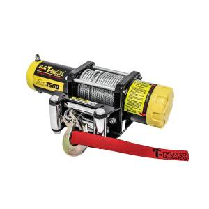 Exterior - Winches - Westin - 3;500 lb. 1.1HP with steel rope and corded hand-held control - 47-1235