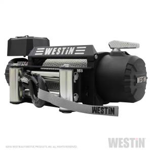 Winch & Recovery - Winches - Westin - 9;500 lb. 6.6hp; 12V Off-Road series waterproof winch with 5/16 inch steel rope - 47-2100