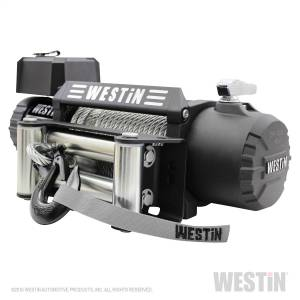 Winch & Recovery - Winches - Westin - 12;500 lb. 6.6hp; 12V Off-Road series waterproof winch with 3/8 inch steel rope - 47-2106