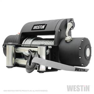 Exterior - Winches - Westin - 12;000 lb. 6.6hp; 12V Off-Road Integrated series winch with 3/8 inch steel rope - 47-2203