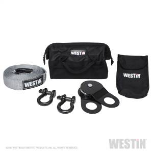 Winch & Recovery - Winch Accessories - Westin - Includes: (2) bow shackles rated at 9;500 lbs.; (1) 4 inch snatch block rated at - 47-3200