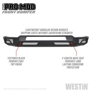 Bumpers - Front Bumpers - Westin - 1500 2019 (Excl. 2019 Ram 1500 Classic)(Excl. Rebel) - 58-41075