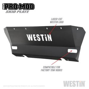 Body Armor & Sliders - Skid Plates - Westin - Colorado 2015-2019 - 58-71155
