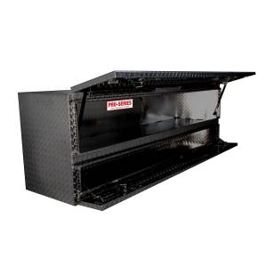 Truck Bed Accessories - Tool Boxes - Westin - Brute High Cap Stake Bed Contractor Box - 80-TB400-72-B