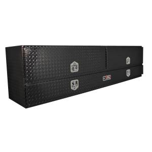 Truck Bed Accessories - Tool Boxes - Westin - Brute High Cap Stake Bed Contractor Box - 80-TB400-96D-B