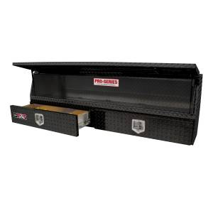 Truck Bed Accessories - Tool Boxes - Westin - Brute Contractor TopSider Tool Box - 80-TBS200-72-BD-B