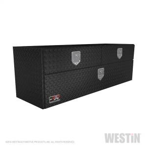 Truck Bed Accessories - Tool Boxes - Westin - BRTBX UnderBody 60in x 20in w/Top Drawer - 80-UB60-20TD-BT