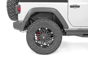Rough Country - Jeep Rear Inner Fenders (18-20 Wrangler JL) - 10498A