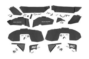 Rough Country - Jeep Front & Rear Inner Fenders Set (18-20 Wrangler JL) - 10499