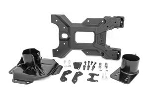 Exterior - Exterior Accessories - Rough Country - HD Hinged Spare Tire Carrier Kit (07-18 Jeep JK) - 10523