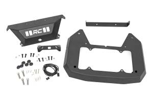 Exterior - Exterior Accessories - Rough Country - Jeep Spare Tire Delete Kit (18-20 JL) - 10560