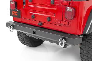 Rough Country - Jeep Classic Full Width Rear Bumper (87-06 Wrangler YJ/TJ) - 10591