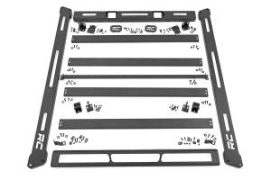 Roof/Luggage Racks - Roof Racks - Rough Country - Jeep Roof Rack System (18-20 Wrangler JL) - 10612