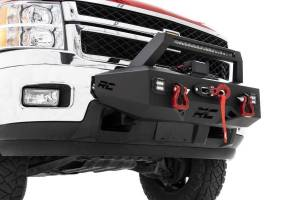 Winch & Recovery - Winch Accessories - Rough Country - EXO Winch Mount System (11-19 Chevrolet Silverado 2500/3500) - 10764