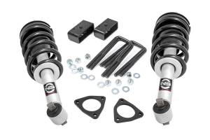"""Leveling Kit - Rough Country - Rouch Country 2.5"""" Levelng Lift Kit with N3 Loaded Struts 1319"""