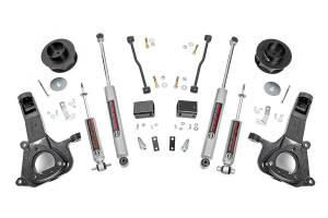 """Rough Country - Rough Country 4"""" RAM 1500 Lift Kit with Premium N3 Shocks 30730"""
