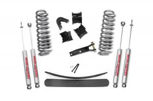 Lift & Level Kits - Lift Kits - Rough Country - 2.5in Ford Suspension Lift Kit - 400-70-7630
