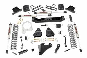 """Rough Country 6"""" 2017-2022 Ford F-250/350 Super Duty Lift Kit with V2 Monotube Shocks 50370"""