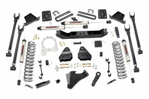 """Rough Country 6"""" 2017-2022 Ford F-250/350 Super Duty Lift Kit with V2 Monotube Shocks 50870"""