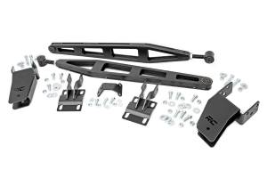 "Suspension Components - Accessories & Hardware - Rough Country - Ford Traction Bar Kit, 4.5-6"" Lift (05-16 F-250 4WD) - 51003"