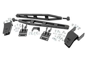 "Suspension Components - Accessories & Hardware - Rough Country - Ford Traction Bar Kit, 0-3"" Lift (05-16 Ford F-250 4WD) - 51005"