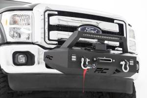 Winch & Recovery - Winch Accessories - Rough Country - EXO Winch Mount System (11-16 Ford F-250 / F-350) - 51006