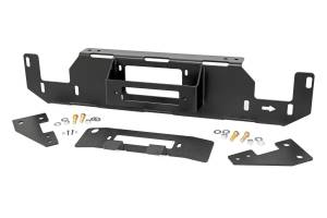 Winch & Recovery - Winch Mounts - Rough Country - Ford Hidden Winch Mounting Plate (15-20 F-150, V8) - 51007