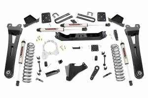 """Rough Country 6"""" 2017-2022 Ford F-250/350 Super Duty Lift Kit with V2 Monotube Shocks 51270"""