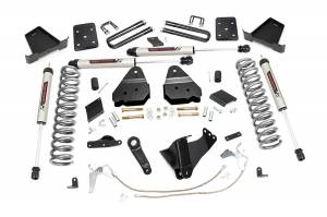 """Rough Country 6"""" 2015-2016 Ford F-250 Super Duty Lift Kit with V2 Monotube Shocks 52970"""
