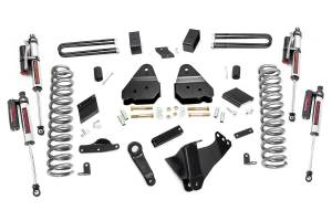 """Rough Country 4.5"""" 2011-2014 Ford F-250 Super Duty Lift Kit with Vertex Reservoir Shocks 53050"""