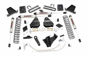 """Rough Country 6"""" 2011-2014 Ford F-250 Super Duty Lift Kit with V2 Monotube Shocks 53370"""