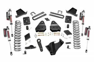 """Rough Country 4.5"""" 2015-2016 Ford F-250 Super Duty Lift Kit with Vertex Reservoir Shocks 53450"""