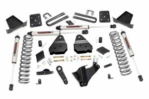 """Rough Country 4.5"""" 2015-2016 Ford F-250 Super Duty Lift Kit with V2 Monotube Shocks 53470"""