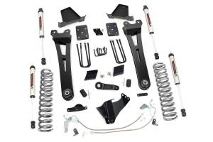 """Rough Country 6"""" 2011-2014 Ford F-250 Super Duty Lift Kit with V2 Monotube Shocks 54070"""