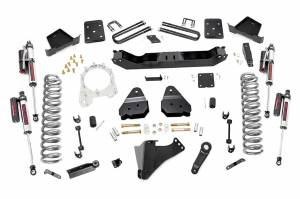 """Rough Country 4.5"""" 2017-2022 Ford F-250/350 Super Duty Lift Kit with Vertex Reservoir Shocks 55050"""