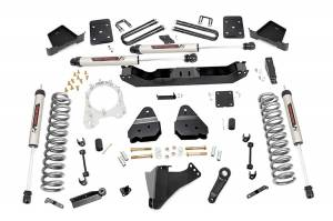 """Rough Country 4.5"""" 2017-2022 Ford F-250/350 Super Duty Lift Kit with V2 Monotube Shocks 55070"""