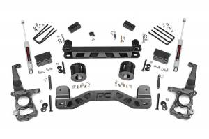 """Rough Country 4"""" 2015-2020 Ford F-150 4WD Lift Kit with Premium N3 Shocks 55130"""